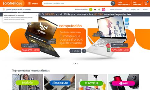Falabella launches new e-commerce platform